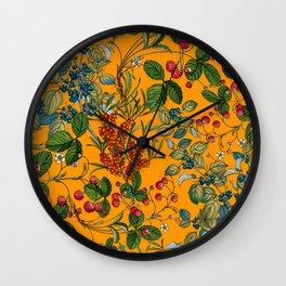 Vintage Garden VII Wall Clock