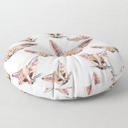 Fennec Foxes Floor Pillow