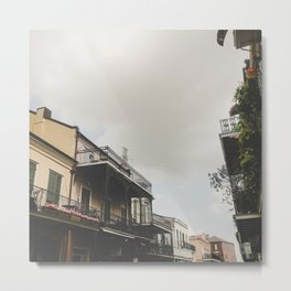 Quite New Orleans Metal Print