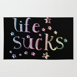 Life Sucks Rug