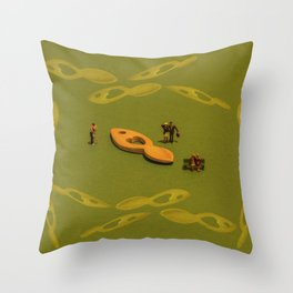 Love Through The Ages Throw Pillow