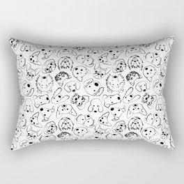 Dogs pattern Rectangular Pillow