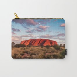 Australian Outback Sunset at Ayers Rock Carry-All Pouch