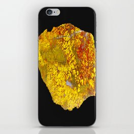 Cady Mountain Yellow Plume Agate iPhone Skin
