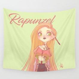 Modern Rapunzel Wall Tapestry