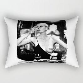 ''At The Table'' Rectangular Pillow