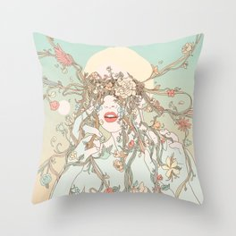 A Natural View (Life Before My Eyes) Throw Pillow