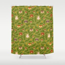 Woodland Wanderers Shower Curtain