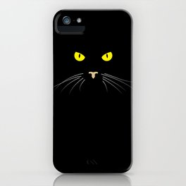 My cat's eyes iPhone Case