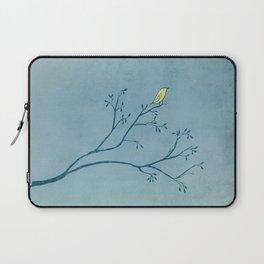 Yellow Bird Laptop Sleeve