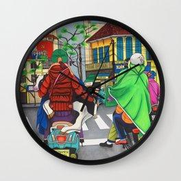 VIETNAMESE GANGSTA Wall Clock