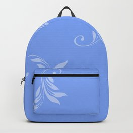 Blue on Blue Backpack