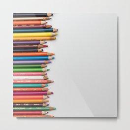 Colored pencil 10 Metal Print