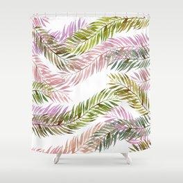 tropical florest Shower Curtain