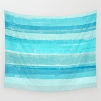 bar Wall Tapestries featuring Sand Bar by T30 Gallery