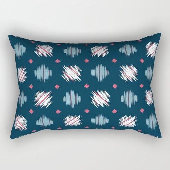 Kimono Pattern Rectangular Pillow