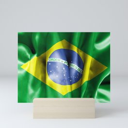 Brazil Flag Mini Art Print
