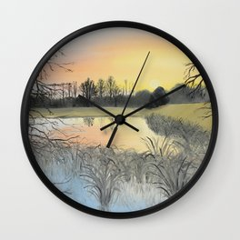 Nudity On The Water Wall Clock