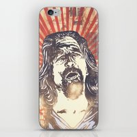 the big lebowski iPhone & iPod Skins featuring Big Lebowski by Tommy Lennartsson