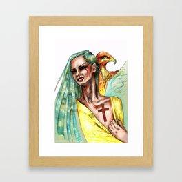 Hostage Framed Art Print