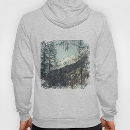 be in my Dreams - snow capped mountains Hoody