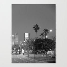 Barcelona Boardwalk Canvas Print