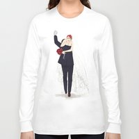 wedding Long Sleeve T-shirts featuring BuckyNat Wedding by Elithien