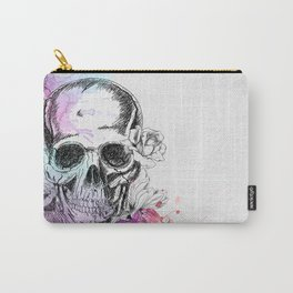 Skull flowers Carry-All Pouch