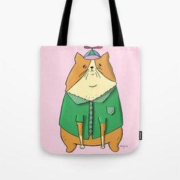 Beanie Cat Tote Bag