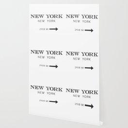 watercolor new york new york Wallpaper
