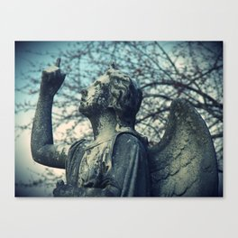 Stone Angel Blues Canvas Print