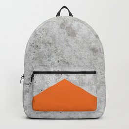 Concrete Arrow - Orange #118 Backpack