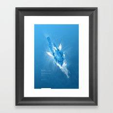 Flowing Paradise Framed Art Print