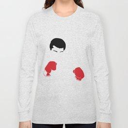 Faceless Ali Cassius Muhammad Clay Long Sleeve T-shirt