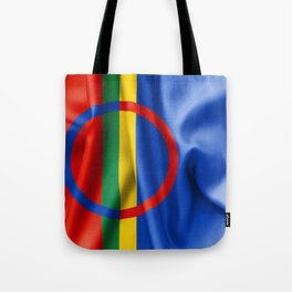 Sami Flag Tote Bag