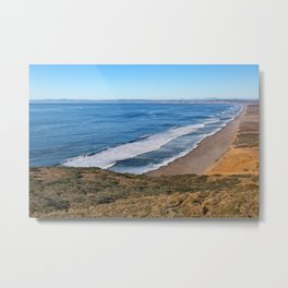 Point Reyes Coastal Scenery Metal Print