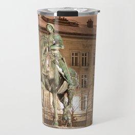 Joan of Arc Frozen in Time Travel Mug