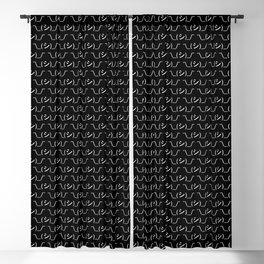 Oops Shrug Emoticon ¯\_(シ)_/¯ Japanese Kaomoji Blackout Curtain