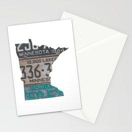 Vintage Minnesota Stationery Cards