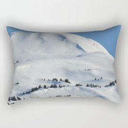 Back-Country Skiing  - VI Rectangular Pillow