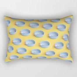 Compulsive smoker Rectangular Pillow