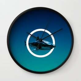 Shark. Wall Clock