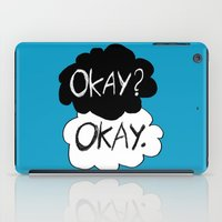 okay iPad Cases featuring Okay? Okay.  by Tangerine-Tane