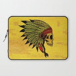 American Indians Death face Design Laptop Sleeve
