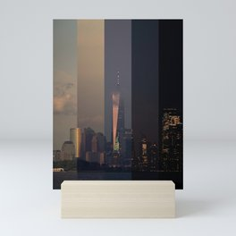 New York Harbor Mini Art Print
