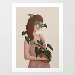 Liana - Bindweed Art Print