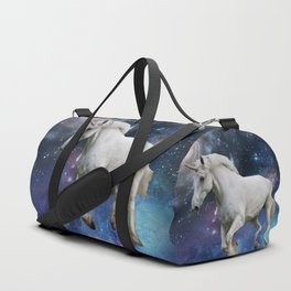 Unicorn and Space Duffle Bag