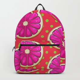Grapefruit Pattern Backpack