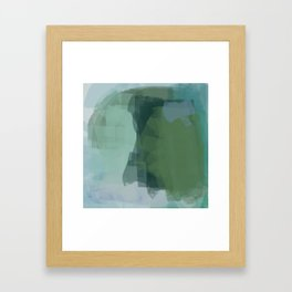 Incredible sensation of fresh air Framed Art Print
