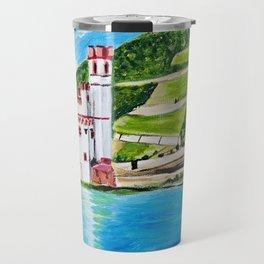 Mouse Tower Bingen Travel Mug